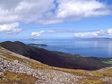 La randonnée sur le montagne Croagh Patrick