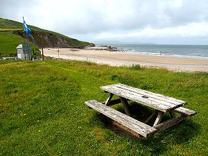La plage Carrowmore Beach