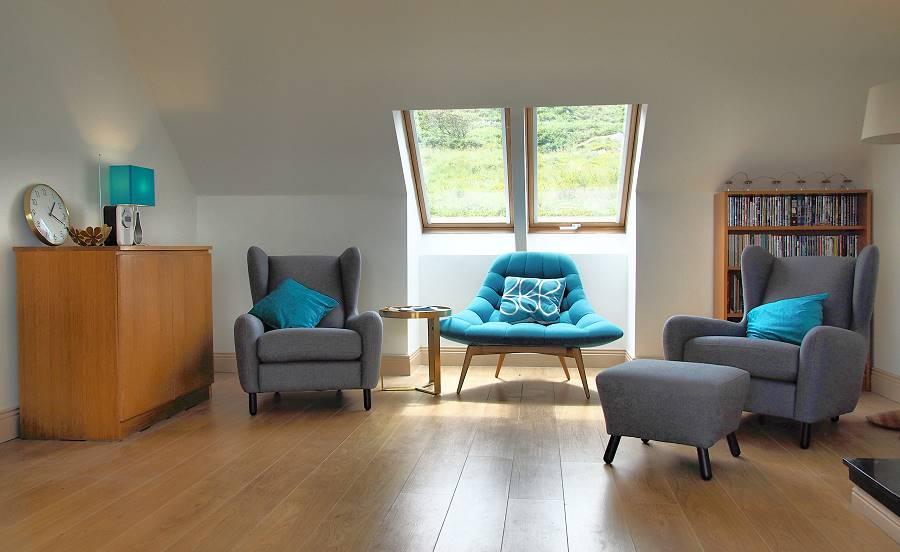 wohnen im ocean view cottage louisburgh connemara mayo ferienhaus irland. Black Bedroom Furniture Sets. Home Design Ideas